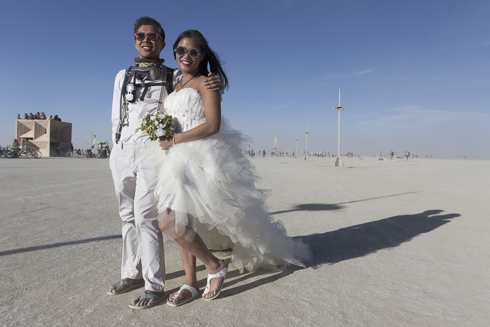 Burning Man Wedding Black Rock City Hochzeit